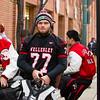 Thanksgiving Day: Needham Varsity Football defeated Wellesley 12-7, to win the  Fredrick J. Gorman Centennial Trophy, on November 26, 2015, at Fenway Park in Boston, Massachusetts.
