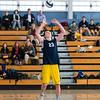 Boys Varsity Volleyball: Framingham defeated Needham 3 games to 2 on April 5, 2016, at Framingham High School in Framingham,  Massachusetts.