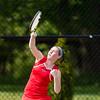 Girls Varsity Tennis: Needham defeated Brookline 3-2 on May 20, 2016, at Needham High School in Needham, Massachusetts.