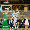 Boys JV Basketball: Needham JV basketball in action against Wellesley in a mini game on January 8, 2017 at TD Garden in Boston Massachusetts.