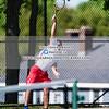 Boys Varsity Tennis: Needham defeated St. John's 3-2 on May 16, 2017 at Needham high School in Needham, Massachusetts.