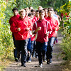 Boys JV Cross Country Quad-Meet: Needham, Braintree, Milton and Dedham on September 14, 2016, at Needham High School in Needham, Massachusetts.
