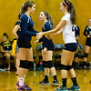 Girls Varsity Volleyball: Walpole defeated Needham 3-2 on September 20, 2016, at Needham High School in Needham, Massachusetts.