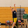 Boys Varsity Volleyball: Needham defeated Wellesley 3-0 on April 9, 2018 at Wellesley High School in Wellesley, Massachusetts.