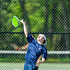 Boys Varsity Tennis: Wellesley defeated Needham 3-2 on May 9, 2018 at Needham High School in Needham, Massachusetts.
