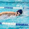 Girls Varsity Swimming & Diving: Needham defeated Brookline 101-85 on October 23, 2018 at Brookline High School in Brookline, Massachusetts.