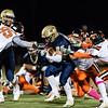 Varsity Football: MIAA D1 South Quarterfinal - Needham defeated Newton North 14-7 on October 26, 2018 at Needham High School in Needham, Massachusetts.
