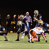 Varsity Football: MIAA D1 South Quarterfinal - Needham defeated Newton North 14-7 on October 26, 2018 at Needham High School in Needham, Massachusetts.