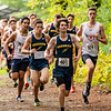 Boys & Girls JV Cross Country: Needham in action verses Braintree and Walpole on October 3, 2018 at Walpole High School in Walpole, Massachusetts.