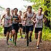 Boys Varsity Cross Country: Needham in action verses Braintree and Walpole on October 3, 2018 at Walpole High School in Walpole, Massachusetts.