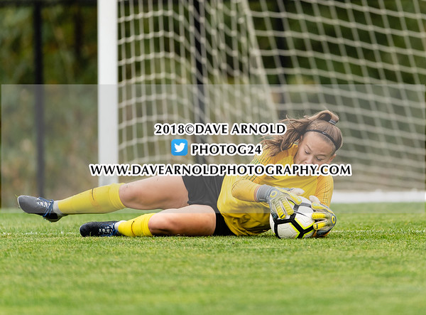 Girls Varsity Soccer: Wellesley defeated Needham 2-1 on October 8, 2018 at Wellesley College in Wellesley, Massachusetts.