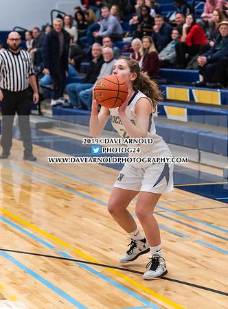 Girls JV Basketball:  Needham defeated Wellesley 36-21 on January 15, 2019 at Needham High School in Needham, Massachusetts.