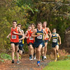 Boys Varsity Cross Country - Needham defeated Newton North 22-33 on October 28, 2020 at Cold Springs Park in Newton, Massachusetts.