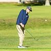 Needham Varsity Golf in action on October 6, 2020 at Needham Golf Club in Needham, Massachusetts.