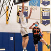 Boys Varsity Basketball: Needham defeated Newton North 63-52 on February 10, 2021 at Needham High School in Needham, Massachusetts.