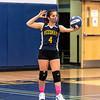 Girls Freshman Volleyball: Needham defeated Wellesley 3-0 on March 16, 2021 at Needham High School in Needham, Massachusetts.
