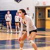 Girls Varsity Volleyball: Needham defeated Wellesley 3-0 on March 16, 2021 at Needham High School in Needham, Massachusetts.