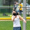 Girls Varsity Tennis: Needham defeated Newton North 3-2 on May 12, 2021 at Needham High School in Needham, Massachusetts.