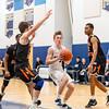 Boys Varsity Basketball: Newton North defeated Needham 59-45 on January 17, 2020 at Needham High School in Needham, Massachusetts.
