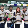 Needham Girls Varsity Hockey defeated Newton North  on February 15th, 2012, at Babson in Babson Park, Massachusetts.
