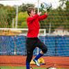Boys Varsity Soccer:  Newton South defeated Bedford 1-0 on October 5, 2015, at Newton South High School in Newton, Massachusetts.