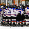 D3 North 1st Round: Newton South defeated Hamilton Wenham 3-2, in double overtime, on February 27, 2020 at O'Brien Rink in Woburn, Massachusetts.