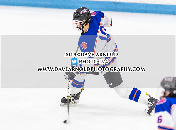 MIAA D3 North Semifinal: Newton South defeated Dracut-Tyngsboro 4-1 on March 6, 2019 at the Chelmsford Forum in Chelmsford, Massachusetts.