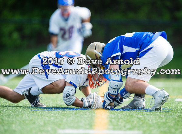 Acton-Boxboro Boys Varsity Lacrosse defeated Newton South 13-2 on May 20, 2013, at Newton South in Newton, Massachusetts.