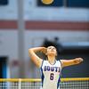 Newton South Girls Varsity Volleyball defeated Needham 3-0 on September 9, 2013, at Newton South High School in Newton, Massachusetts.