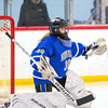 Girls Varsity Hockey: Norwell defeated Hingham 4-3 on February 12, 2020 at Pilgrim Arena in Hingham, Massachusetts.