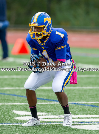 Natick Varsity Football defeated Norwood 28-0 on October 5, 2013, at Norwood High School in Norwood, Massachusetts.