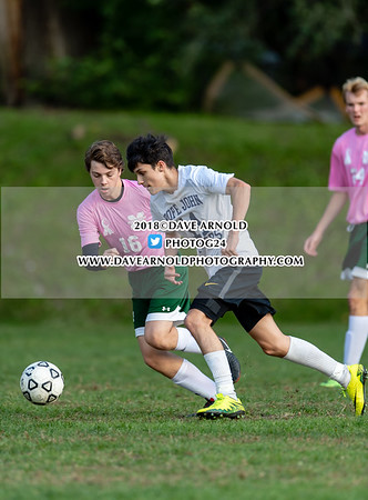 Boys Varsity Soccer: Matignon defeated Pope John XXIII 5-1 on October 17, 2018 at Matignon in Cambridge, Massachusetts.