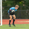 Boys Varsity Soccer: Reading defeated Belmont 2-0 on October 1, 2018 at Reading High School in Reading, Massachusetts.