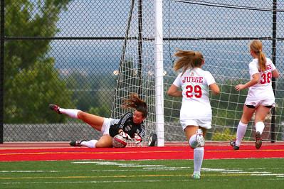 Judge Girl's Soccer vs East 8-20-2013    7