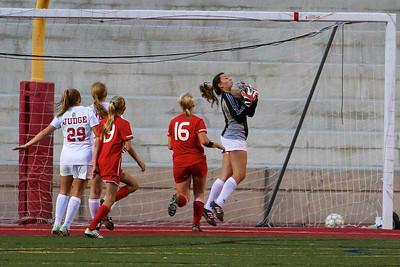 Judge Girl's Soccer vs East 8-20-2013    15
