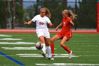 Judge Girl's Soccer vs East 8-20-2013    11
