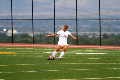 Judge Girl's Soccer vs East 8-20-2013    6