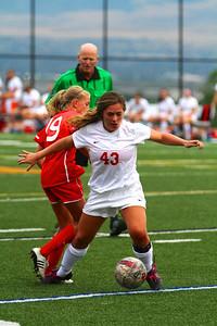 Judge Girl's Soccer vs East 8-20-2013    9