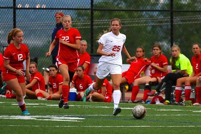 Judge Girl's Soccer vs East 8-20-2013    10