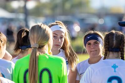 Stansbury, UT - Monday October 07, 2019: Soccer Varsity. Juan Diego vs Stansbury. ©2019 Bryan Byerly