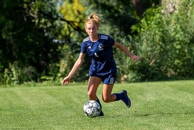 Salt Lake City, UT - Wednesday August 21, 2019: Skyline Girls Soccer - Freshmen. Skyline vs Olympus  ©2019 Bryan Byerly