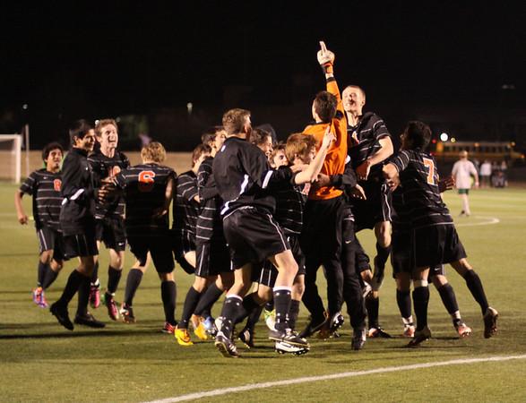 Clash soccer boys Norman wins 3