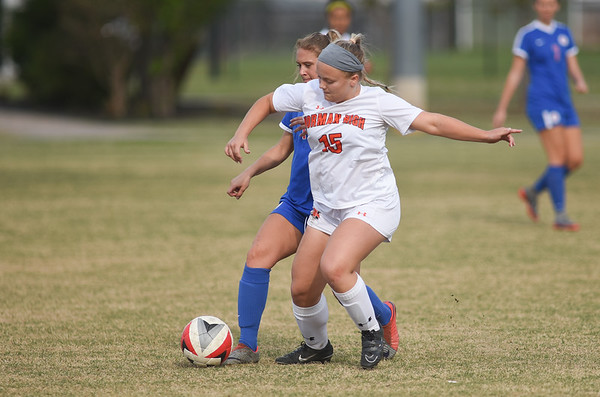 Norman high v Bixsby Girl's soccer