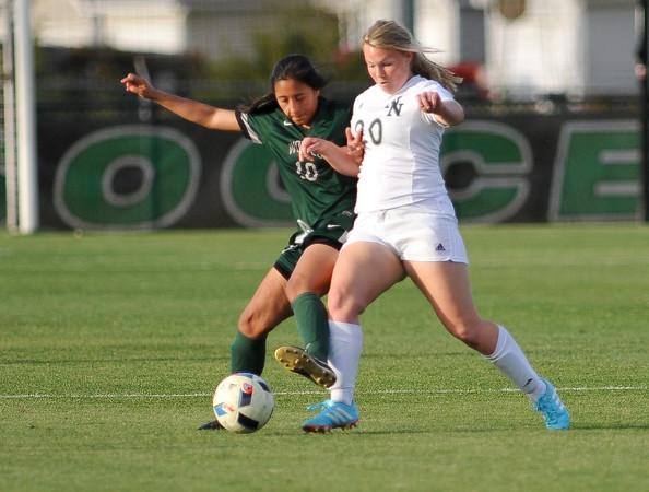 Norman North Girl's Soccer vs Edmond Santa Fe