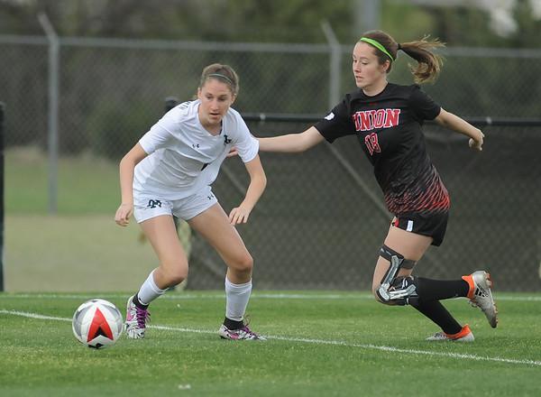 Norman North vs Tulsa Union Girls Soccer