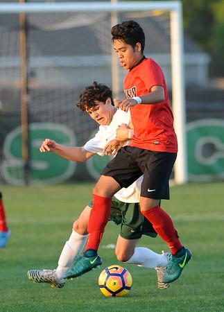 Norman North vs Yukon boys soccer