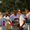 NHS v Mustang softball 3