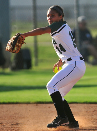 Norman North softball hits the field against Ed . Memorial