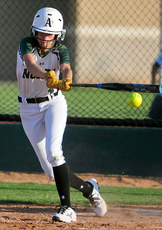 Norman North softball hits the field agaisnt Ed. Memorial