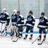 Boys Varsity Hockey: BC High defeated St. John's Prep 4-2 on January 14, 2020 at the Stoneham Arena in Stoneham, Massachusetts.